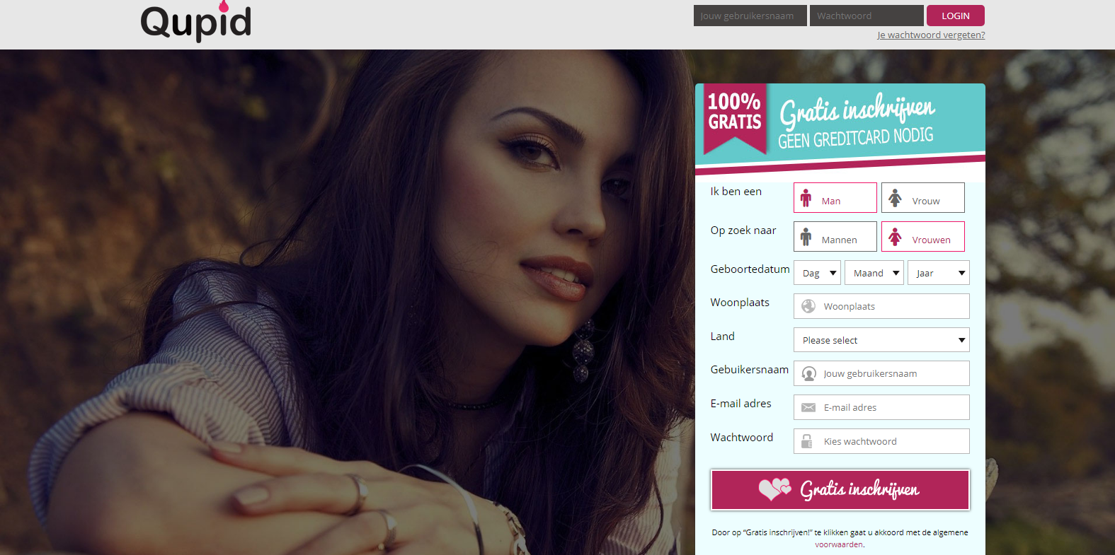 dating website geen creditcard nodig