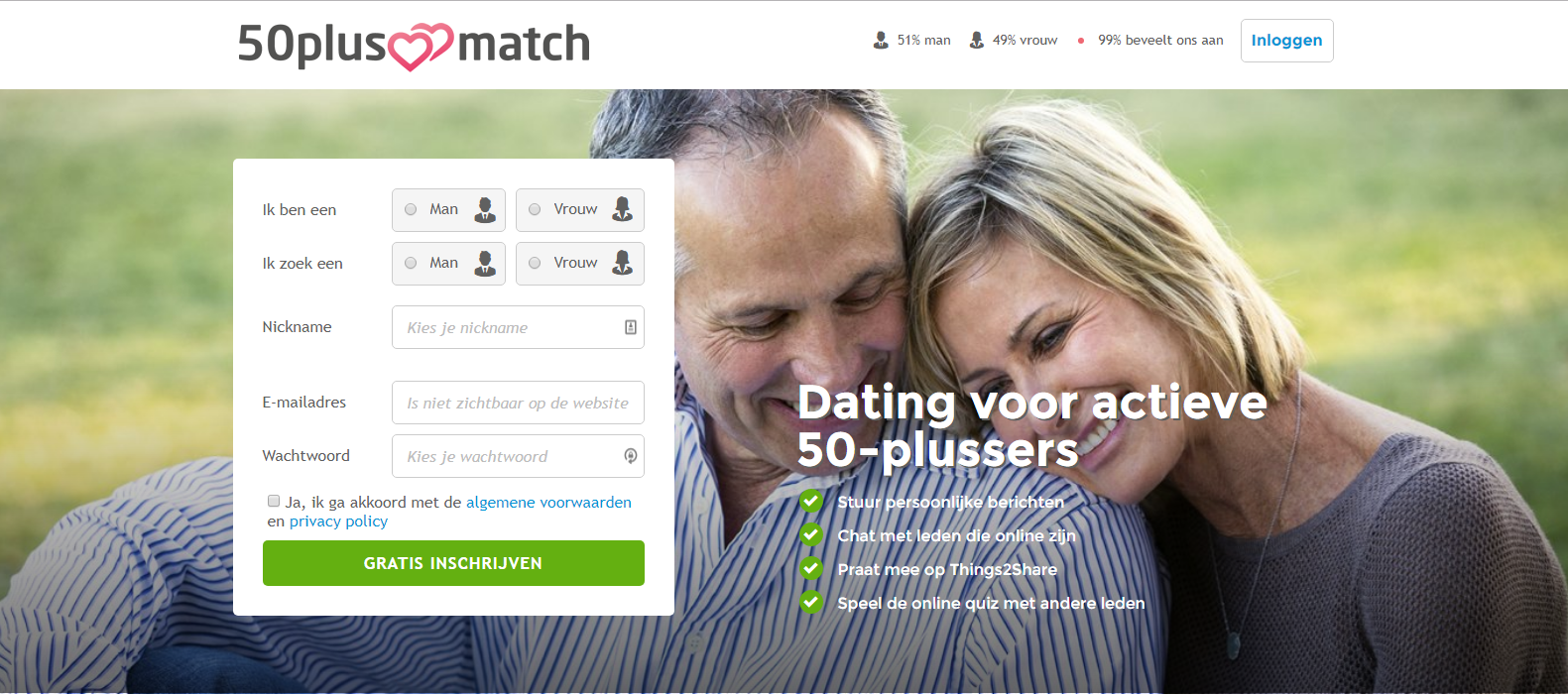 Online dating e-mail grappen