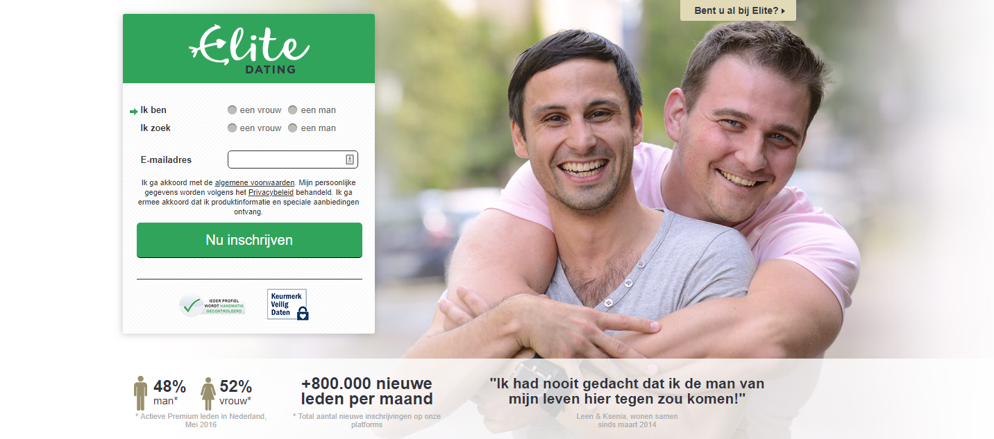 Getrouwd, maar gay dating sites